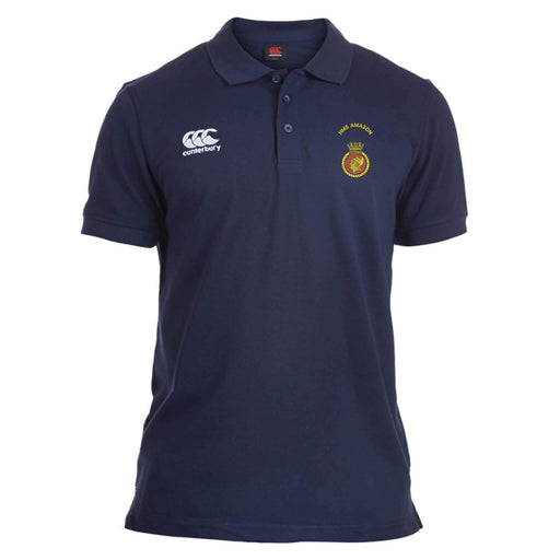 HMS Amazon Canterbury Rugby Polo
