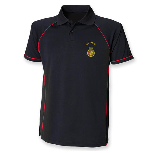HMS Amazon Performance Polo