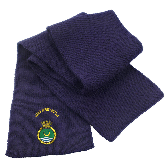 HMS Arethusa Heavy Knit Scarf