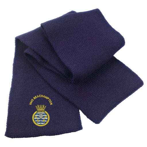 HMS Beachampton Heavy Knit Scarf