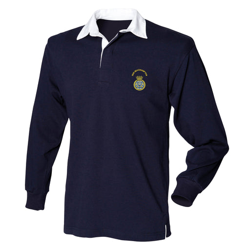 HMS Beachampton Long Sleeve Rugby Shirt