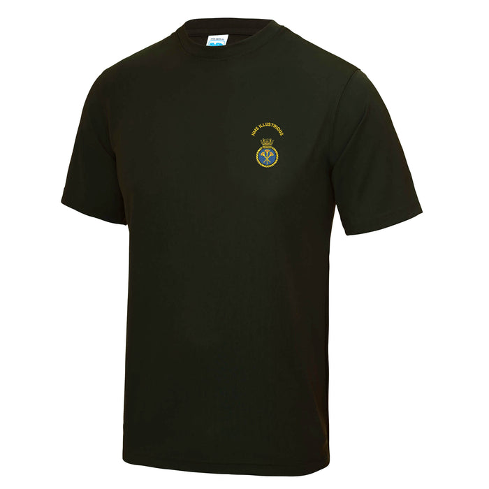 HMS Illustrious Sports T-Shirt