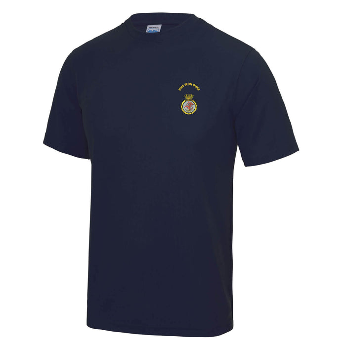 HMS Iron Duke Sports T Shirt