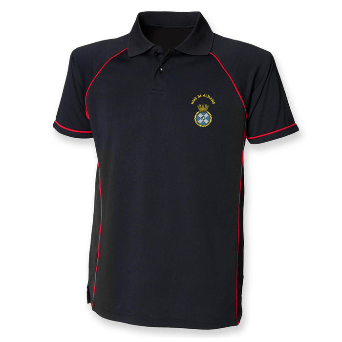 HMS St Albans Performance Polo