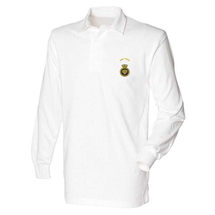 HMS Tiger Long Sleeve Rugby Shirt