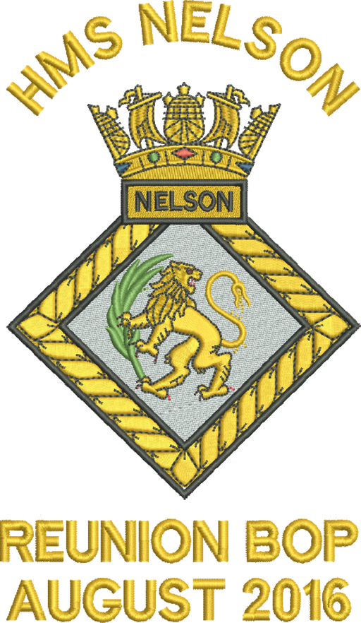 HMS Nelson Reunion BOP Polo Shirt