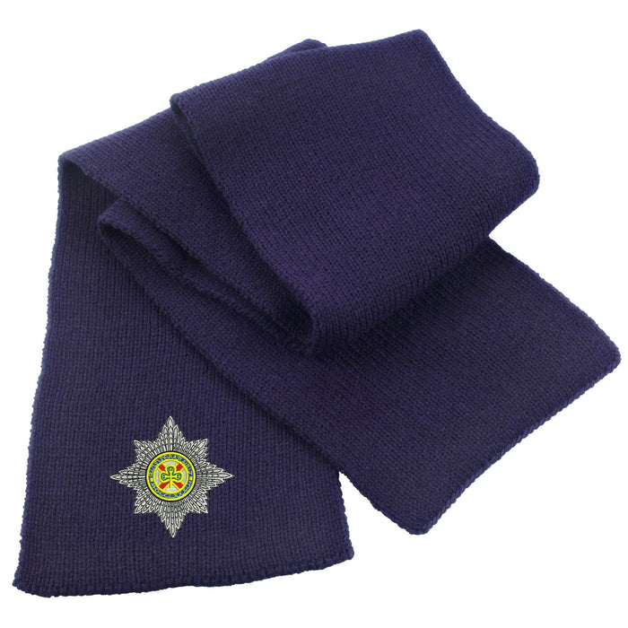 Irish Guards Heavy Knit Scarf