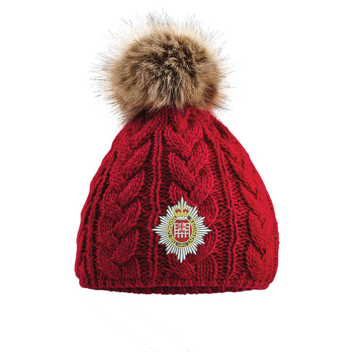 London Regiment Pom Pom Beanie Hat