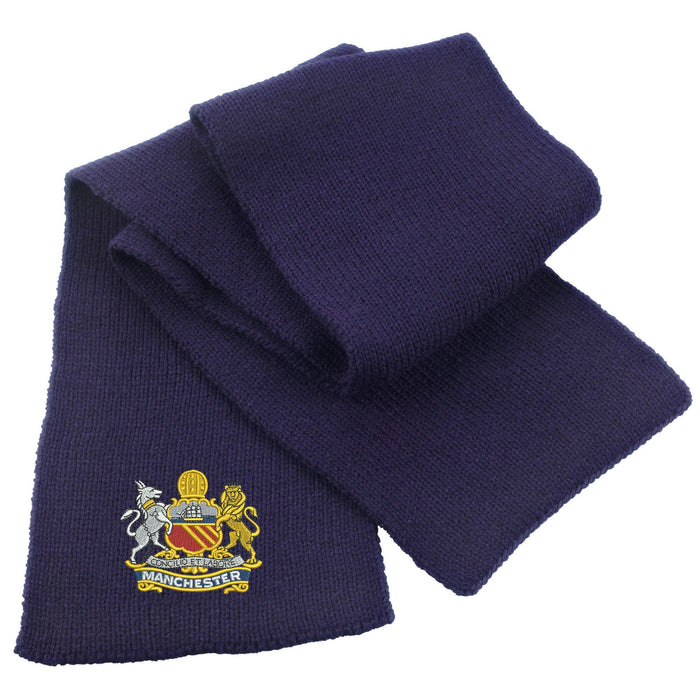 Manchester Regiment Heavy Knit Scarf