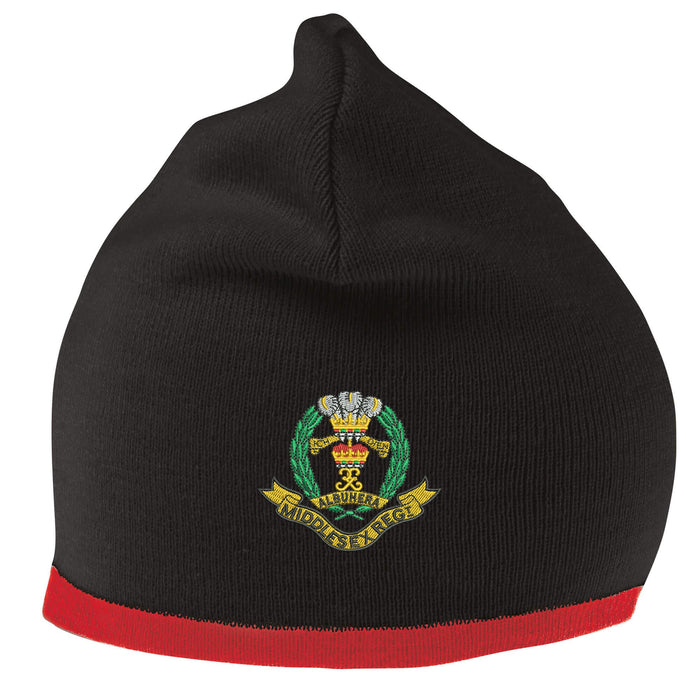Middlesex Regiment Beanie Hat