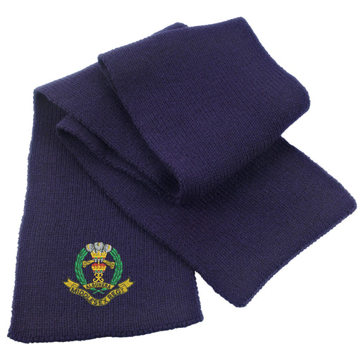 Middlesex Regiment Heavy Knit Scarf