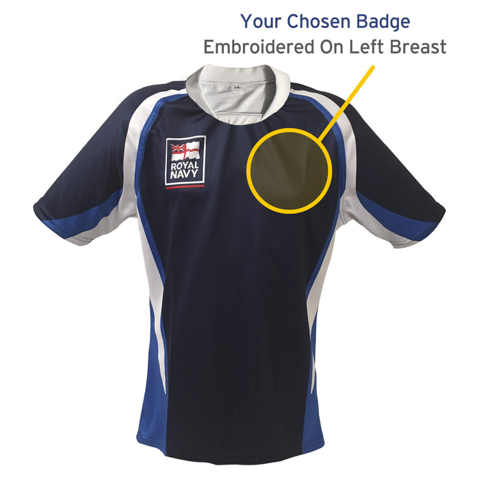 Royal Navy Rugby Shirt (Limited Stock)