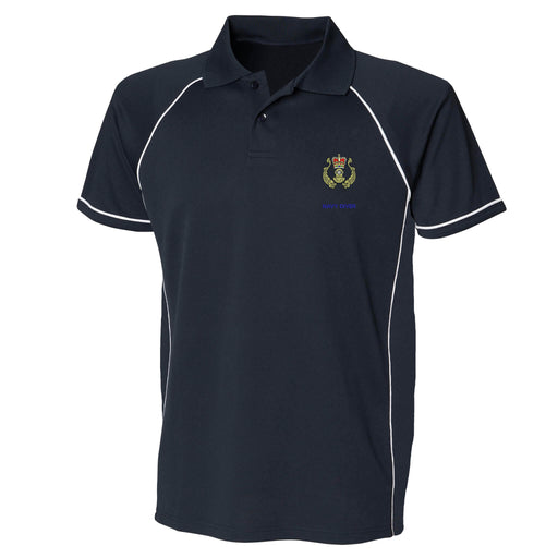 Navy Diver Performance Polo