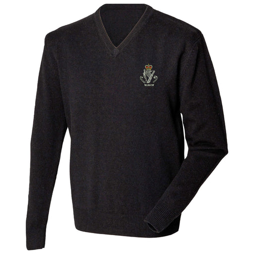 North Irish Horse Lambswool V-Neck Jumper