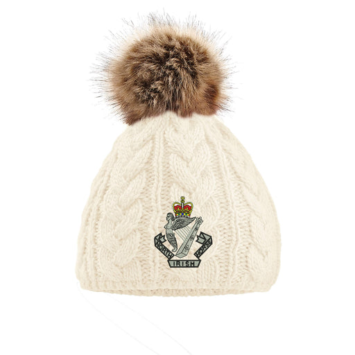 North Irish Horse Pom Pom Beanie Hat