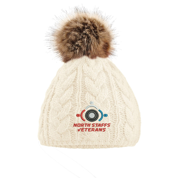North Staffs Veterans Pom Pom Beanie Hat