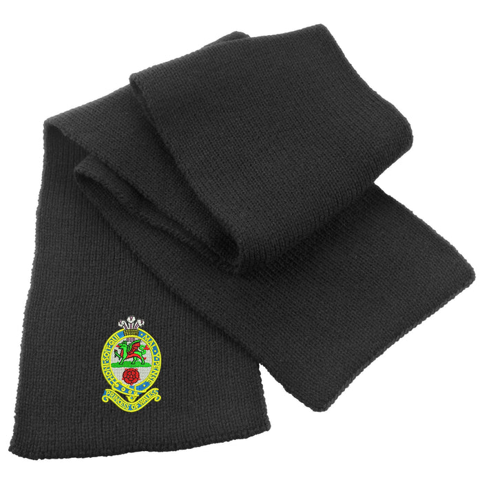 Princess of Wales's Royal Regiment Heavy Knit Scarf