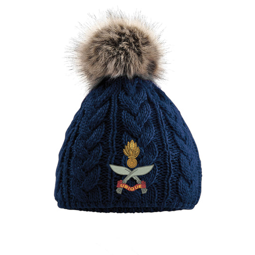 Queens Gurkha Engineers Pom Pom Beanie Hat