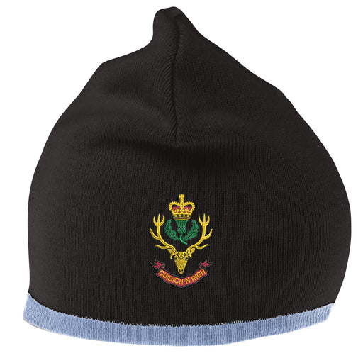 Queens Own Highlanders Beanie Hat