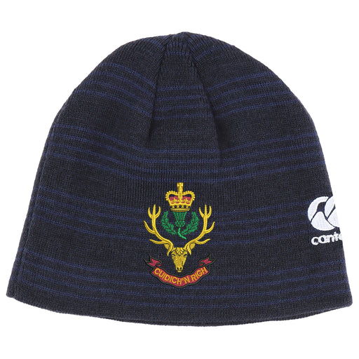 Queens Own Highlanders Canterbury Beanie Hat