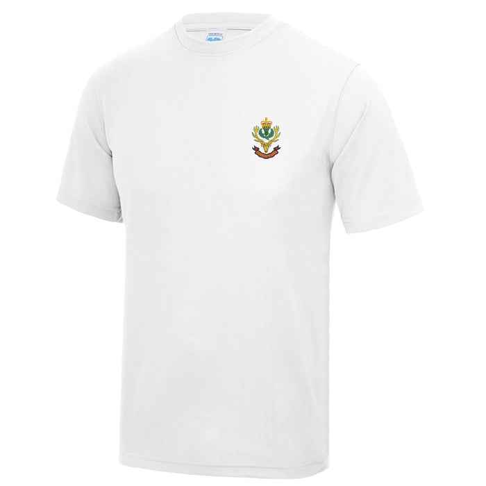 Queens Own Highlanders Sports T-Shirt