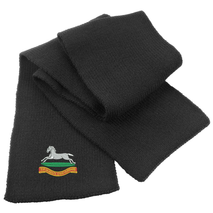 Queens Own Hussars Heavy Knit Scarf