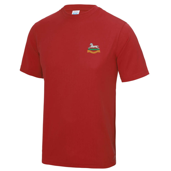 Queens Own Hussars Sports T-Shirt