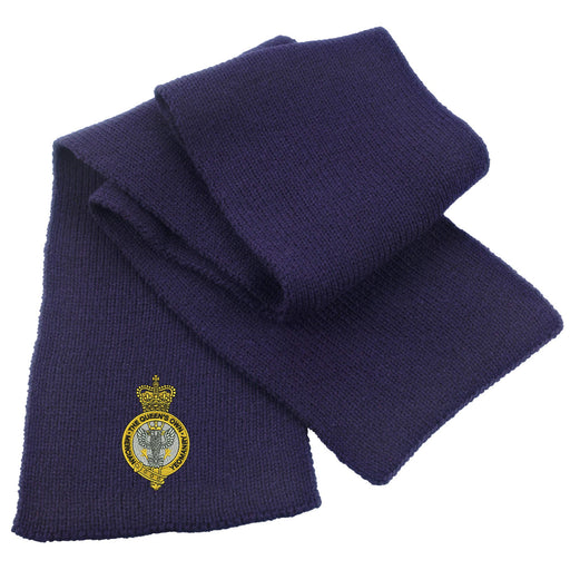 Queen's Own Mercian Yeomanry Heavy Knit Scarf