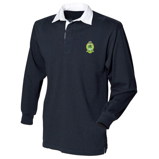 Queens Regiment Long Sleeve Rugby Shirt