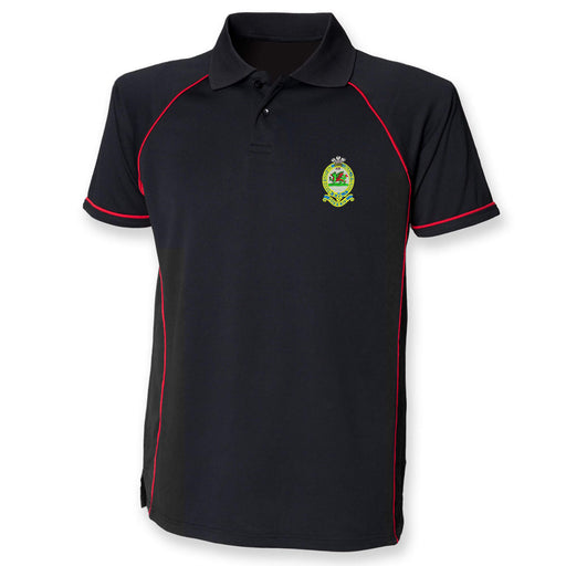 Queens Regiment Performance Polo