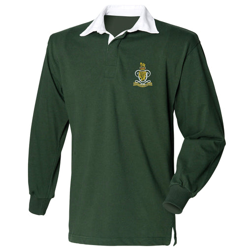 Queens Royal Hussars Long Sleeve Rugby Shirt