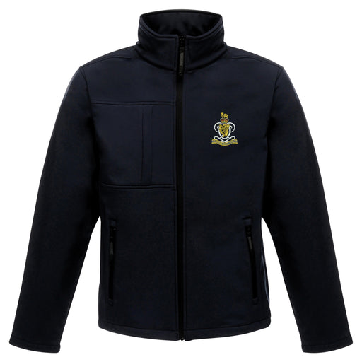Queens Royal Hussars Softshell Jacket