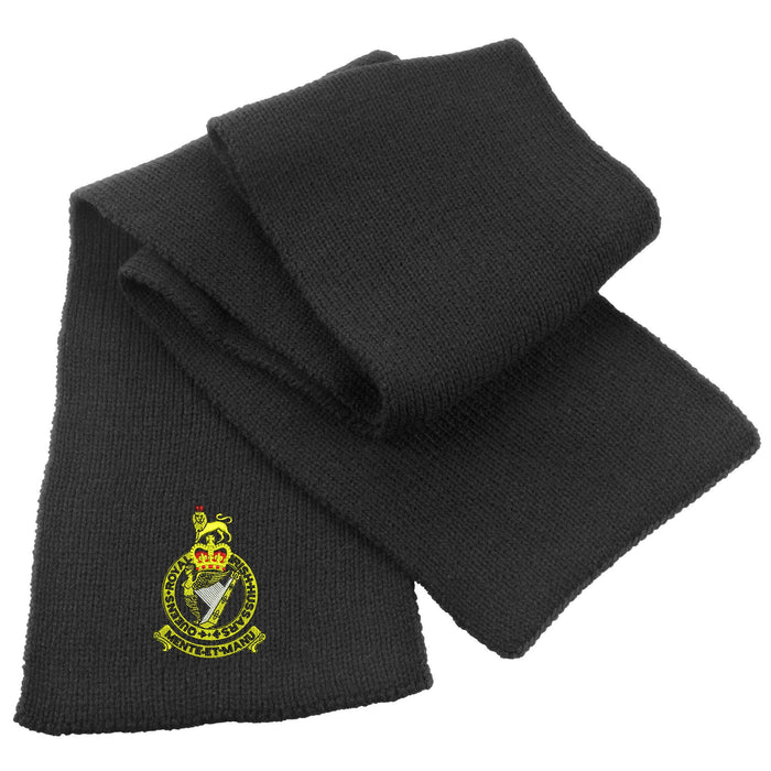 Queen's Royal Irish Hussars Heavy Knit Scarf