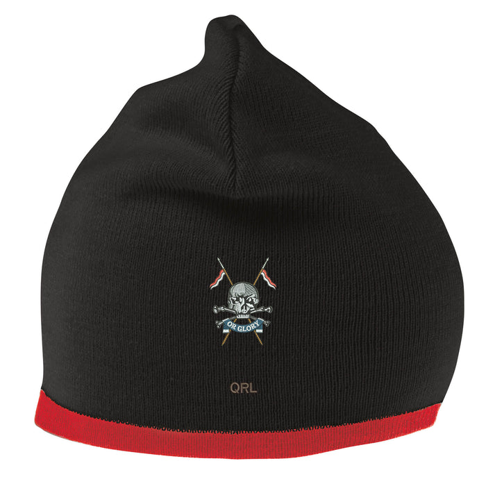 Queens Royal Lancers Beanie Hat