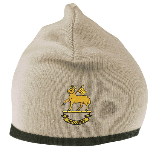 Queen's Royal Regiment Beanie Hat