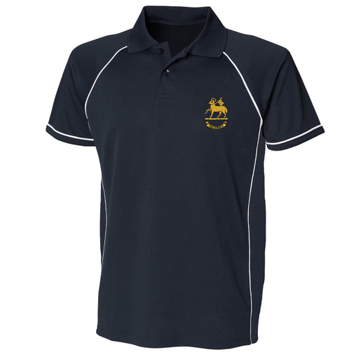 Queen's Royal Regiment Performance Polo
