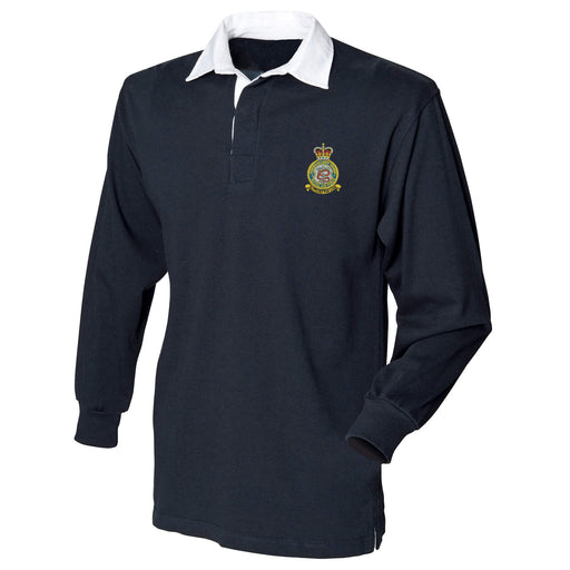RAF Expeditionary Logistics Squadron Long Sleeve Rugby Shirt