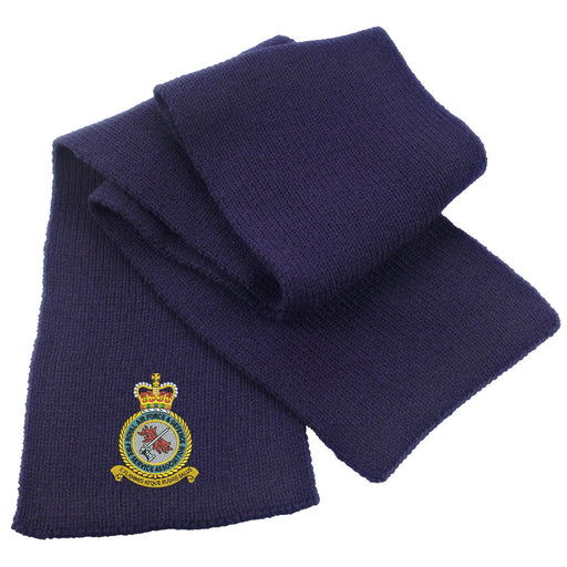 RAF and Defence Fire Service Association Heavy Knit Scarf