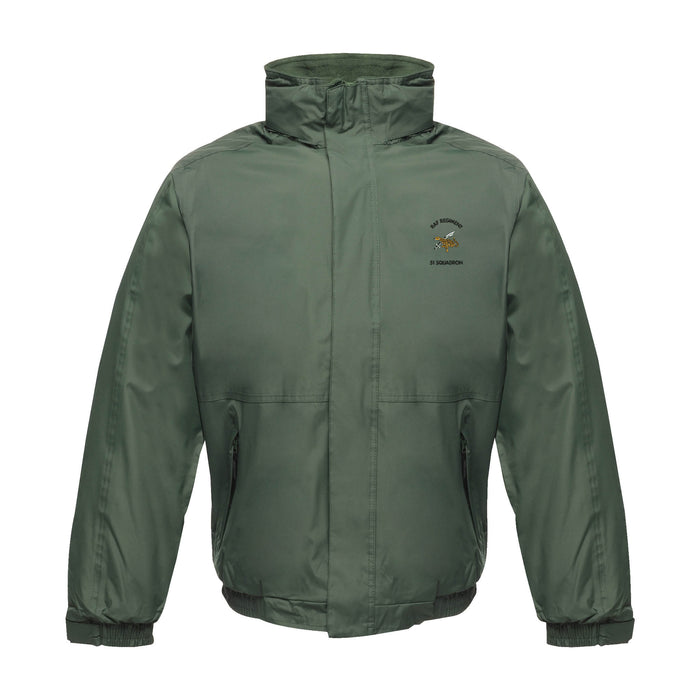 RAF Regiment 51 Squadron Waterproof Jacket