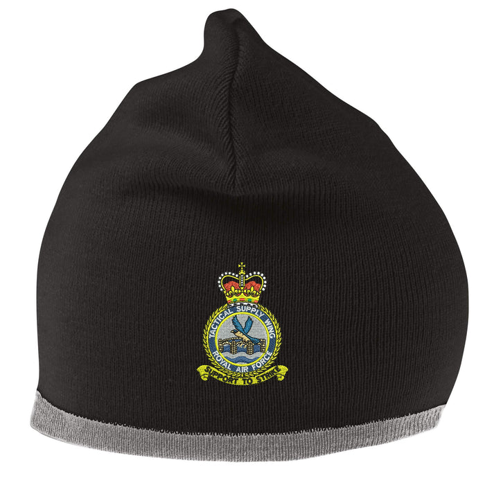 RAF Tactical Supply Wing Beanie Hat