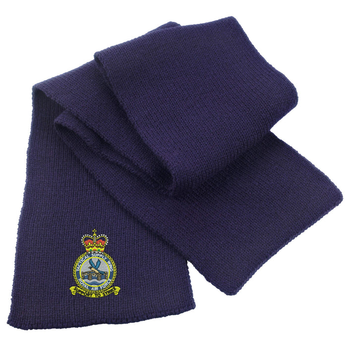 RAF Tactical Supply Wing Heavy Knit Scarf