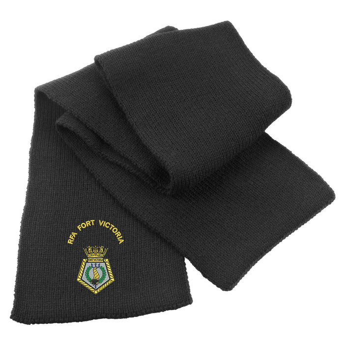 RFA Fort Victoria Heavy Knit Scarf