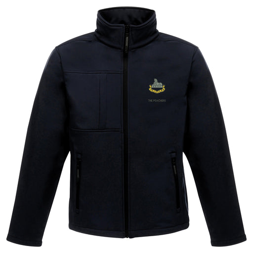 Royal Anglian 2nd Battalion 'The Poachers' Softshell Jacket