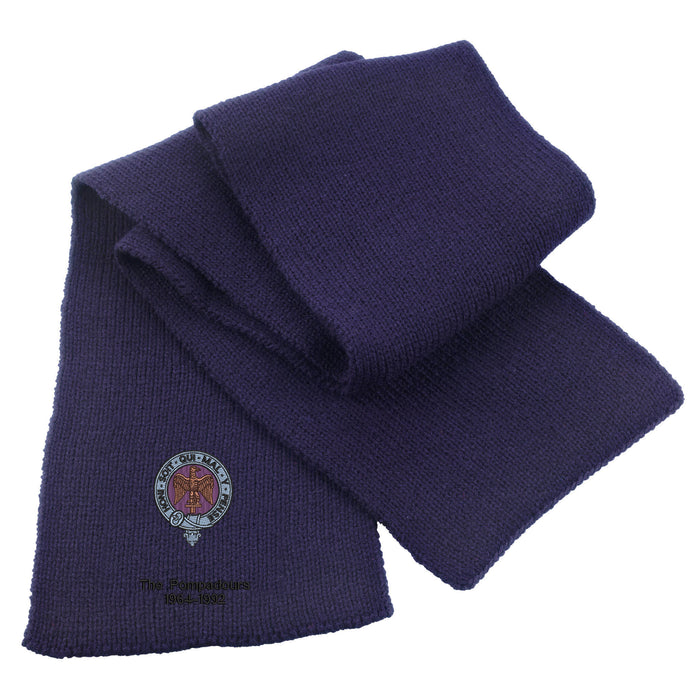 Royal Anglian Pompadour Heavy Knit Scarf