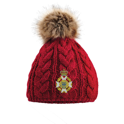 Royal Army Chaplains' Department Pom Pom Beanie Hat