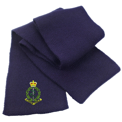 Royal Army Medical Corps Heavy Knit Scarf