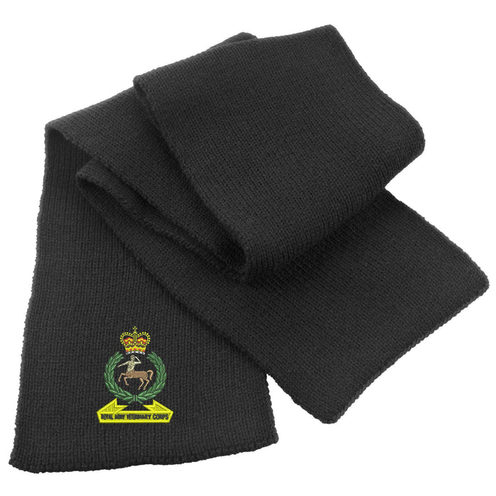 Royal Army Veterinary Corps Heavy Knit Scarf