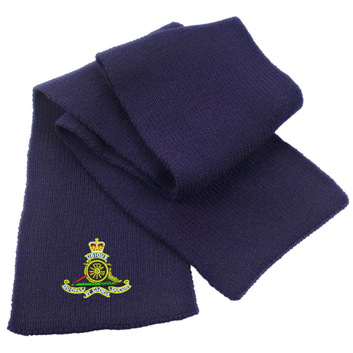Royal Artillery Heavy Knit Scarf