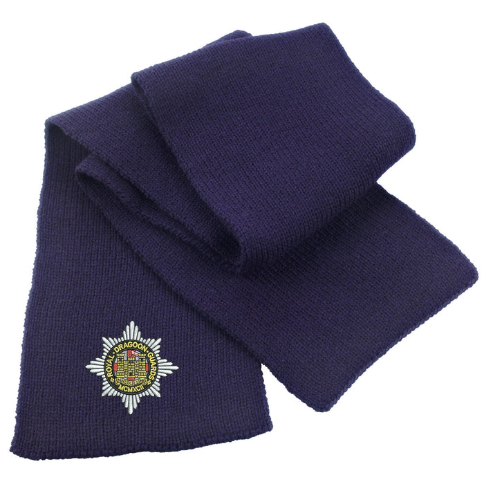 Royal Dragoon Guards Heavy Knit Scarf