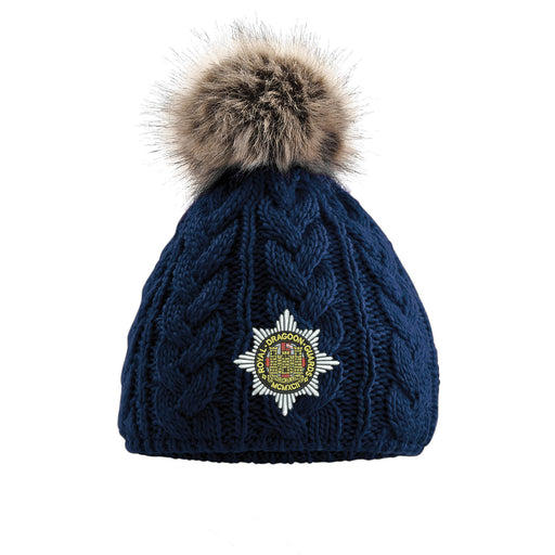 Royal Dragoon Guards Pom Pom Beanie Hat